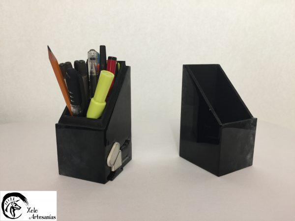 Caja lapicera 2 piezas