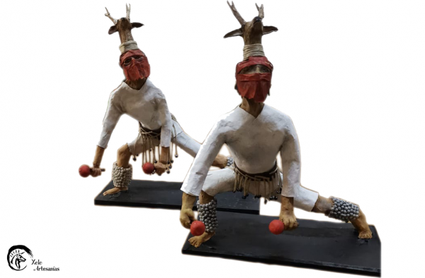 Figura danzante Venado-Mayo