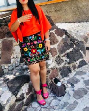 Falda-Mariposa