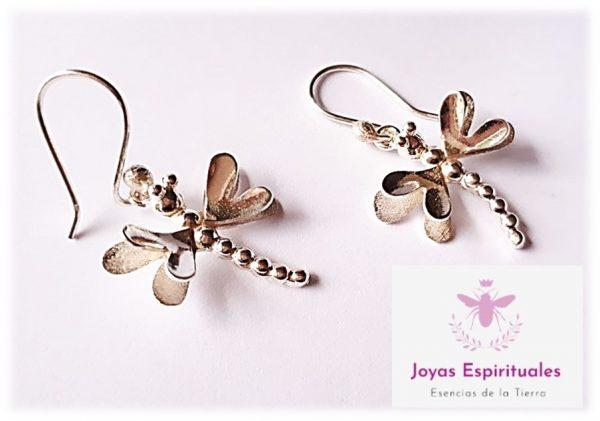 Aretes libélula