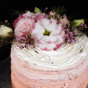 Decoración de Pasteles con Flores Naturales
