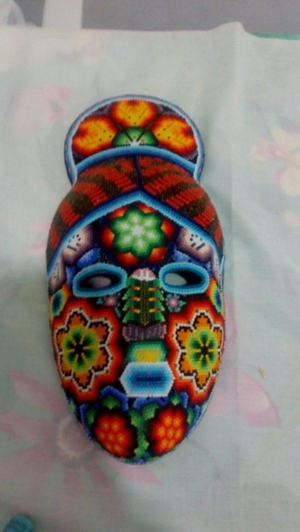 Máscara de copete